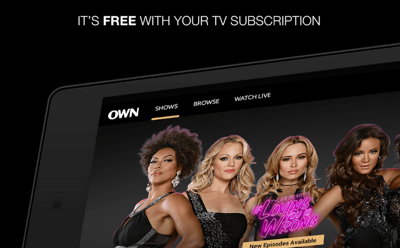 own tv network app 2