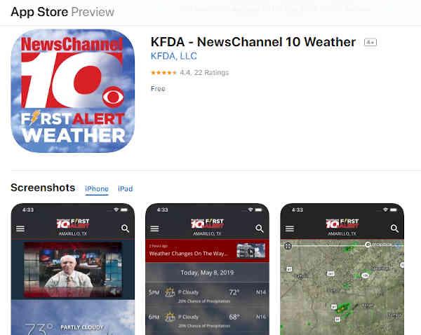 wbir weather app