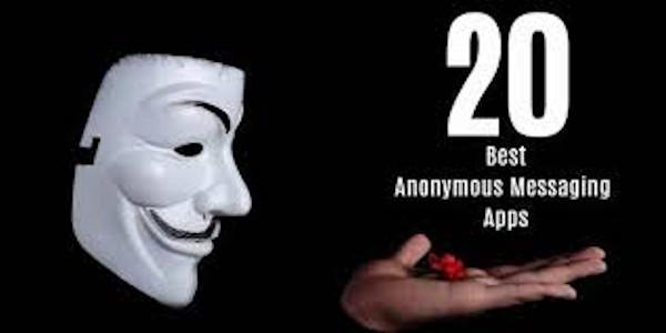 anonymous text app