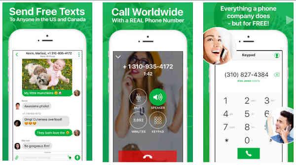 free talk text app