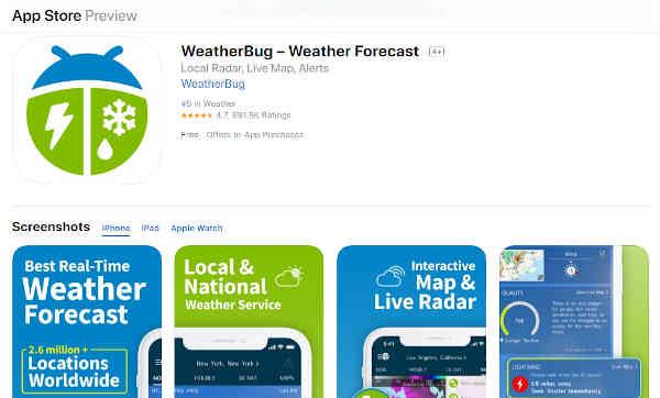 best weather radar app