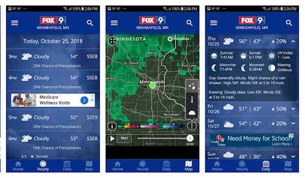 fox 9 weather app