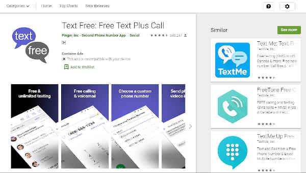 download free talk and text app