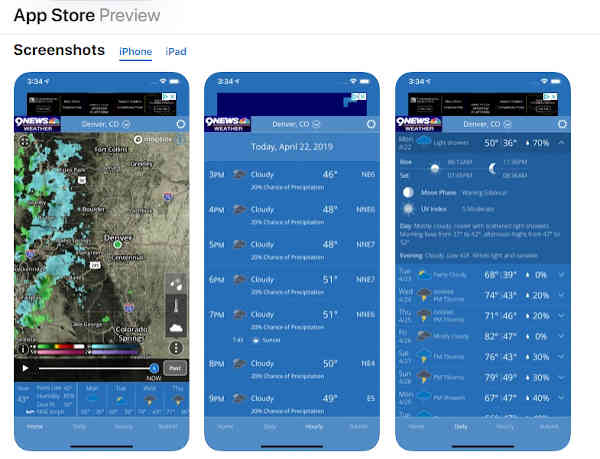 Wbir Weather App Free For Android And Iphone Radar Alert
