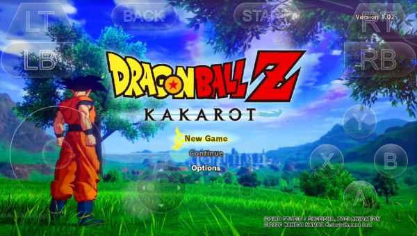 dragon ball z kakarot apk